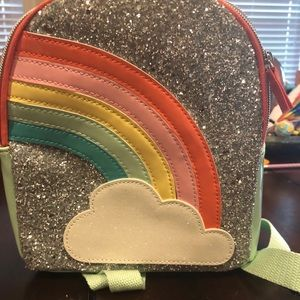 Cat & Jack Accessories - Cat& Jack Rainbow Glitter Backpack